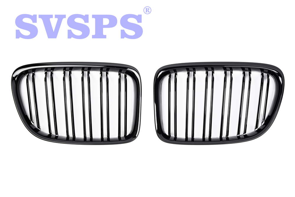 High Quality ABS Front Middle Grille Double Slat Style For BMW X1 E84 2009-2016 Year коврики в салон bmw x1 e84 акпп 2009
