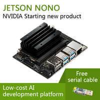 Nvidia jetson nano desenvolvedor kit linux placa de demonstração ai placa de desenvolvimento plataforma