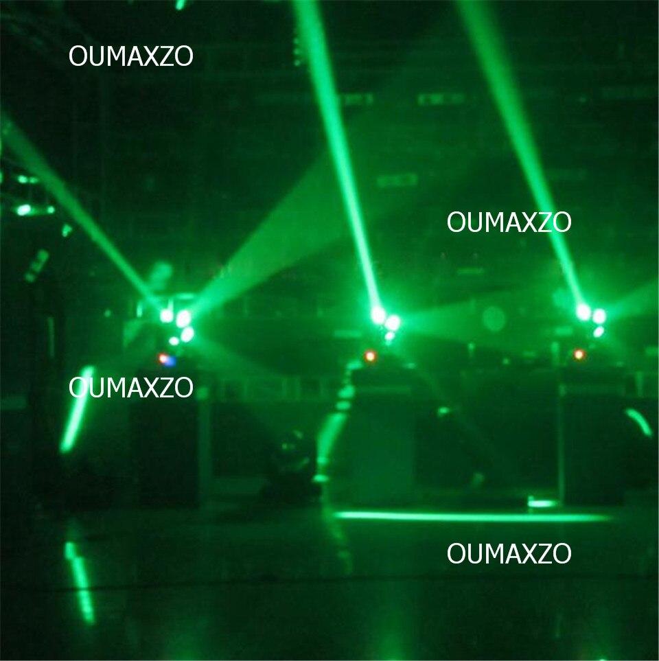 2 шт./лот Disco 360 неполярный вращающийся rgbw светодиодный луч Футбол moving головной свет Освещение сцены 12 шт. 12 Вт RGBW 4in1 светодиодный Футбол