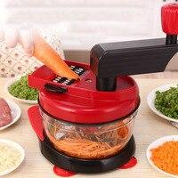 Multifunctional Vegetable Spiral Slicer Meat Grinder One machine Chopper Garlic Cutter Vegetable Cutter Tool