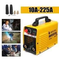 220V ARC 225 LCD Electric IGBT Welder Inverter MMA/ZX7 Portable Welding Machine Tools