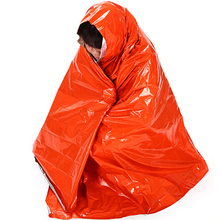 210*130cm Thicken Warming Emergency Blanket Climbing Outdoor Survival Rescue Equipment First Aid Survival Tool Military Blanket