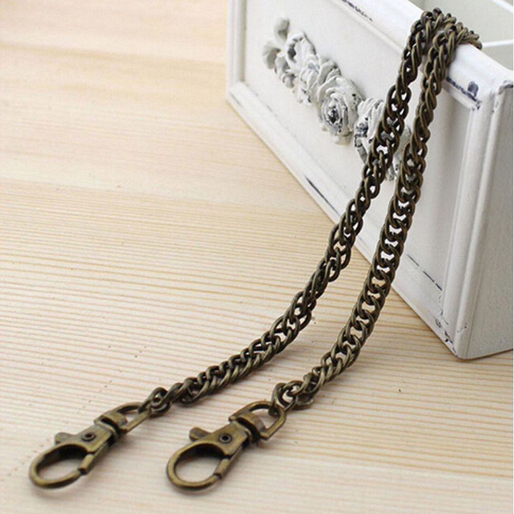 Handbag Strap Long Practical Purse Accessories Durable Bag Chain Metal Replacement Belt Multi Use DIY Hardware Gift Handle