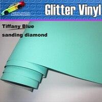 Sparkle Sanding Glitter Vinyl Car Wrap Film With Air Release Auto Dianond Foil Sticker FedEx Free