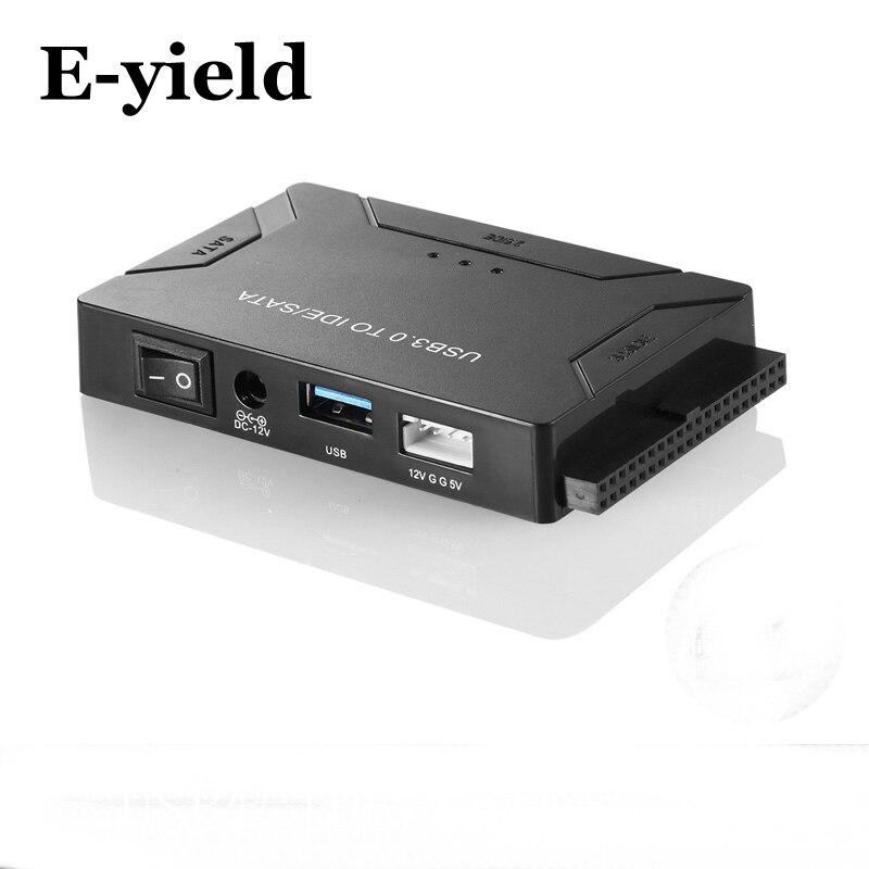 USB 3.0 zu SATA IDE ATA Data Adapter 3 in 1 für PC Laptop 2,5