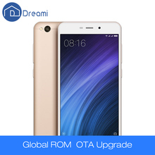 "Dreami Оригинал Xiaomi Redmi 4A Телефон Snapdragon 425 Quad Core ЦПУ 2ГБ RAM 16ГБ ROM 5.0"" 720p 3120мАч Аккумулятор 13 Мегапикселей Камера(Hong Kong)"