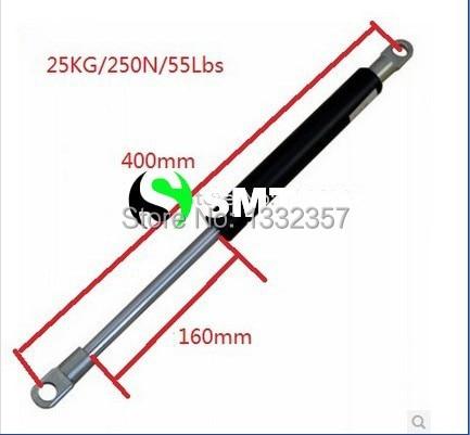 2Pcs Gas Struts 20 Inch 60 lbs Prop Lift Springs Rod Heavy Duty Tool Box Lid Top RV Pair