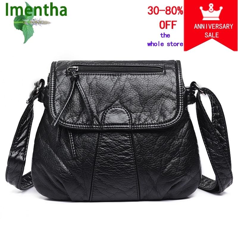 черные женские сумки через плечо - Сумки