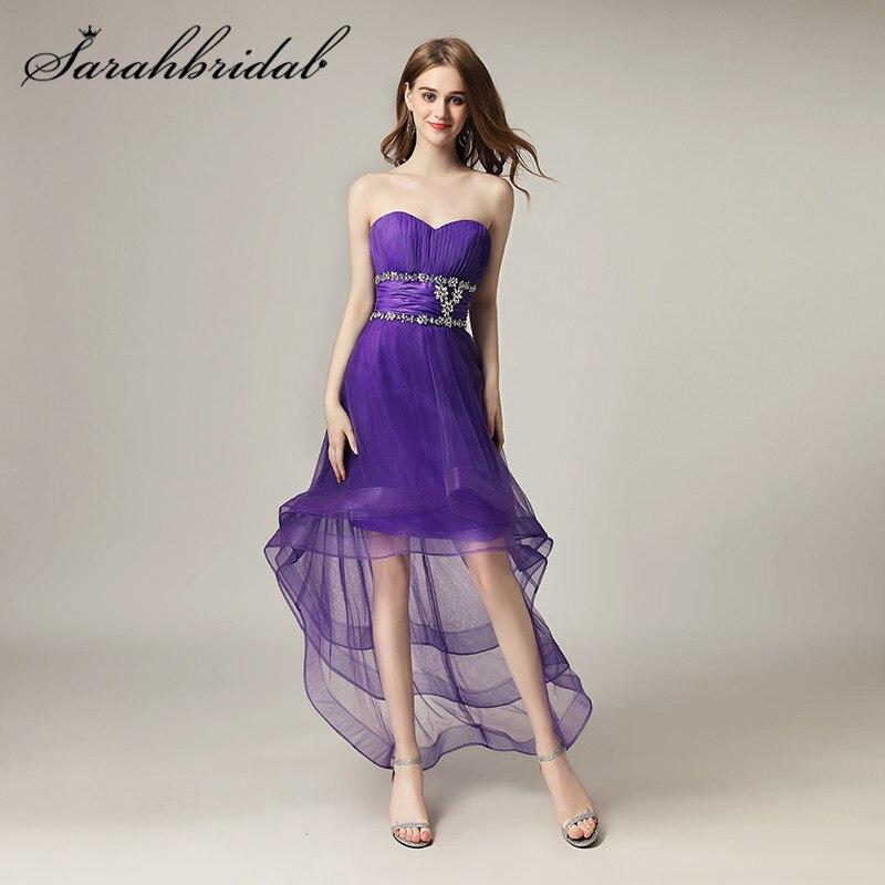 Atractivo Vestidos De Novia Alto Bajo Ornamento - Vestido de Novia ...