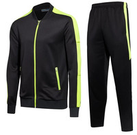 Spring And Autumn Winter Zipper Jacket Sportswear Long Sleeve Running Training Stitching Hit Color High Quality