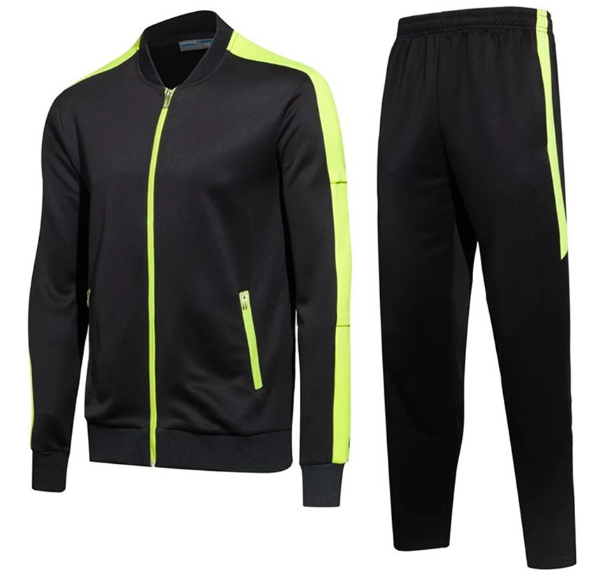 Spring and Autumn Winter zipper jacket sportswear long sleeve running training Stitching hit color high quality sports suit men newest running jacket men polyester hooded zipper sports soccer autumn winter training gym coat with long sleeve