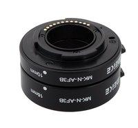Кольцо-удлинитель Meike для камеры Nikon 1  с автоматическим макро-фокусом  комплект переходников для камеры J1  J2  J3  V1  V2