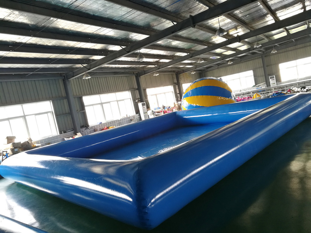 High quality giant blue inflatable pool adult size inflatable pool for sale