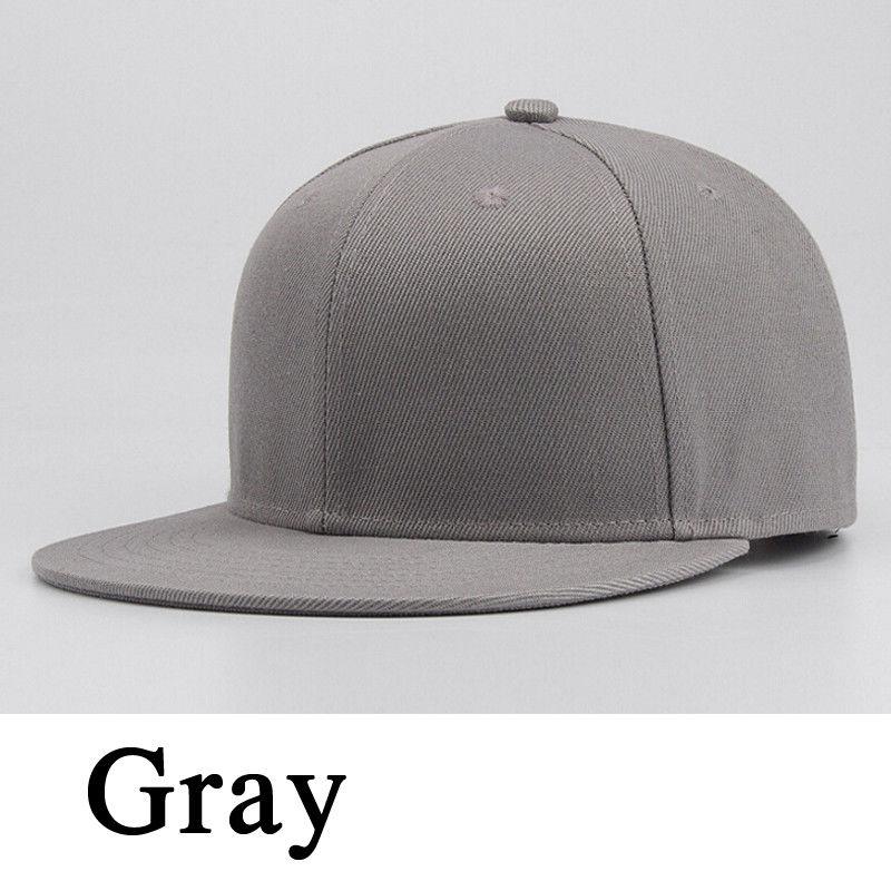 6b1ba9cdf0 US $0.85 14% OFF 2019 Fashion Unisex Sports Baseball Cap Blank Plain Solid  Snapback Golf ball Hip Hop Hat Men Women Casual Caps Hats Dropshipping-in  ...