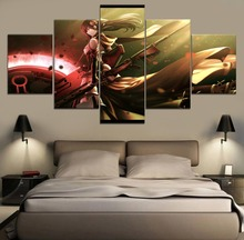 Blake Belladonna RWBY Anime HD Print Painting Home Decor 5 Piece Paintings Wall Art Canvas Modern Room