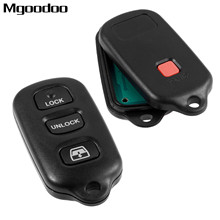 3 + 1 Panic Buttons Remote Car Key Fob HYQ12BBX For Toyota 4Runner 4-Runner Sequoia 2001-2008 315MHz Auto Replacement Key Shell цена
