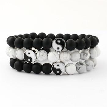 bracelet d'amitié ying yang
