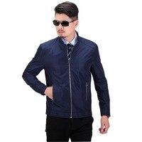 Casual Men Jacket 2017 Zipper Business Coats Blue Spring Summer Overcoat Male Japan Bape Outerwear Outdoors