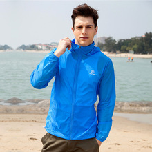 New Spring Summer Lightweight Breathable Skin Jackets Men UV Protection Windproof Quick Dry Outdoor Sport Hiking