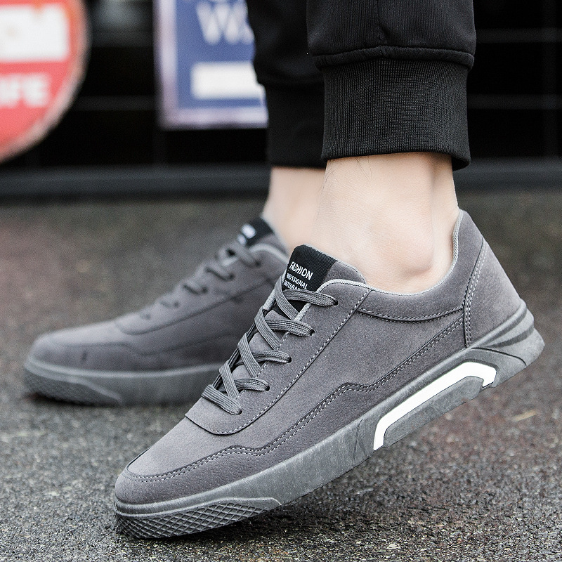 Men Casual Shoes Flat Sneakers Soft Leather Shoes Mans Footwear Breathable Zapatos Hombre Summer Fashion Solid Male Shoes AET643 2018 men summer shoes breathable lace up male casual shoes fashion chaussure homme soft zapatos hombre men genuine leather shoes