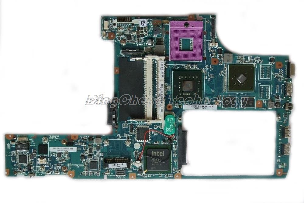 MBX 214 laptop Motherboard For Sony M870 MBX-214 1P-0098J00-8011 A1749960B for intel cpu 2 video non-integrated graphics card
