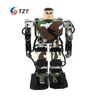 Soldier King 16DOF Smart Humanoid Robot Frame Kits Contest Dance Biped Robotics with Servos for DIY Unassembled