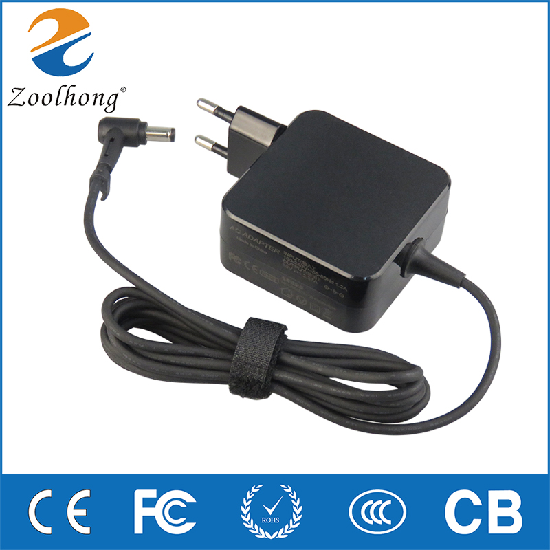 19V 2.37A AC Adapter For Asus x551 X451c F451C X452E EU Laptop Charger Power Supply 5.5mm*2.5mm