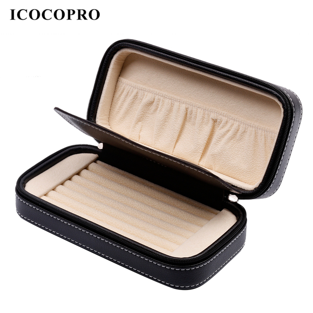 ICOCOPRO Jewelry Box Travel Organizer Box For Jewelry Necklace