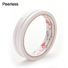 Peerless 9 M X 6 Mm Dua Sisi Pita Perekat Scrapbooking Masking Tape(China)