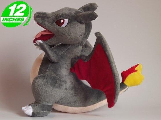 Фильмы и ТВ подарок игрушки Покемон плюшевые игрушки Charizard подарок на день рождения серый около 35 см