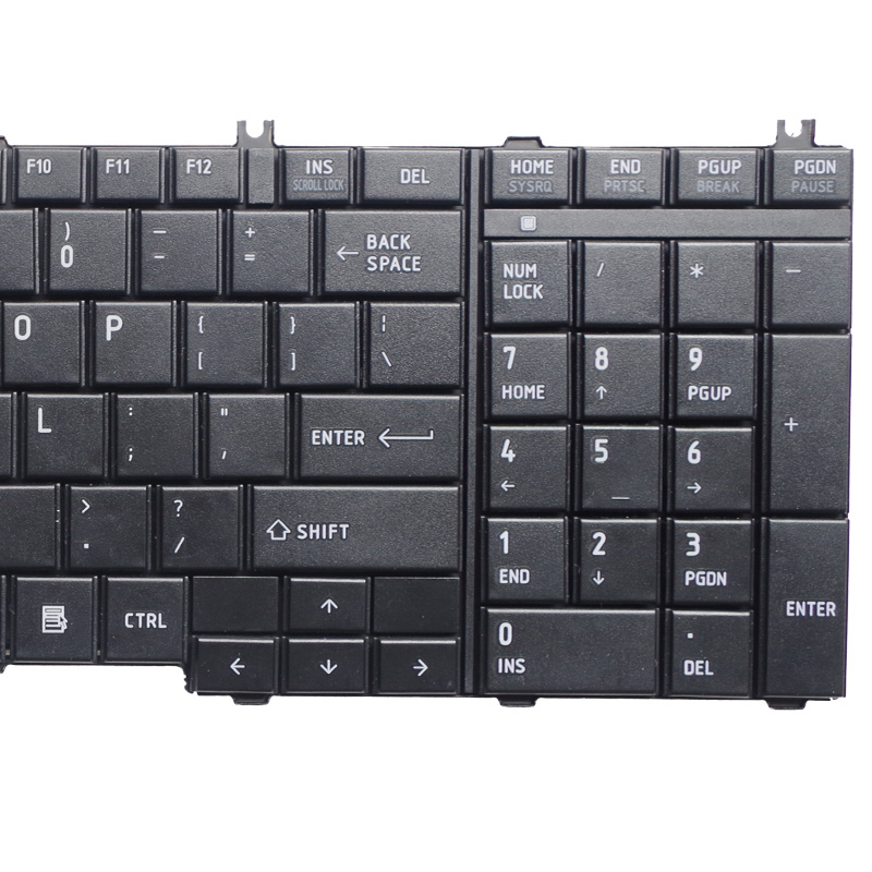 Image 5 - GZEELE английский Клавиатура для ноутбука Toshiba Satellite L670 L670D L675 L675D C660 C660D C655 L655 L655D C650 C650D L650 C670 L750 L750D-in Замена клавиатуры from Компьютер и офис on