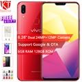 D'origine VIVO X21i Mobile Téléphone 6.28