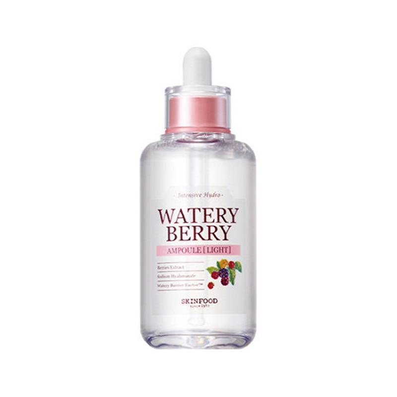 где купить SKINFOOD Skin food Watery Berry Ampoule ( Light ) Moisturizing Cream Face Skin Care Hyaluronic Acid Anti Wrinkle Korean Cometics по лучшей цене