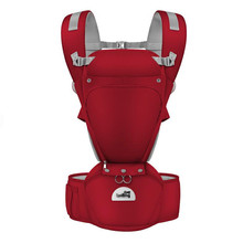 New Hipseat For Newborn & Prevent O-Type Legs 6 In 1 Carry Style Loading Bear 20Kg Ergonomic Baby Carriers Kid SlingBaby Carrier bebear hipseat for prevent o type legs new aviation aluminum 6 in 1 carry style load 20kg ergonomic baby carriers kid sling