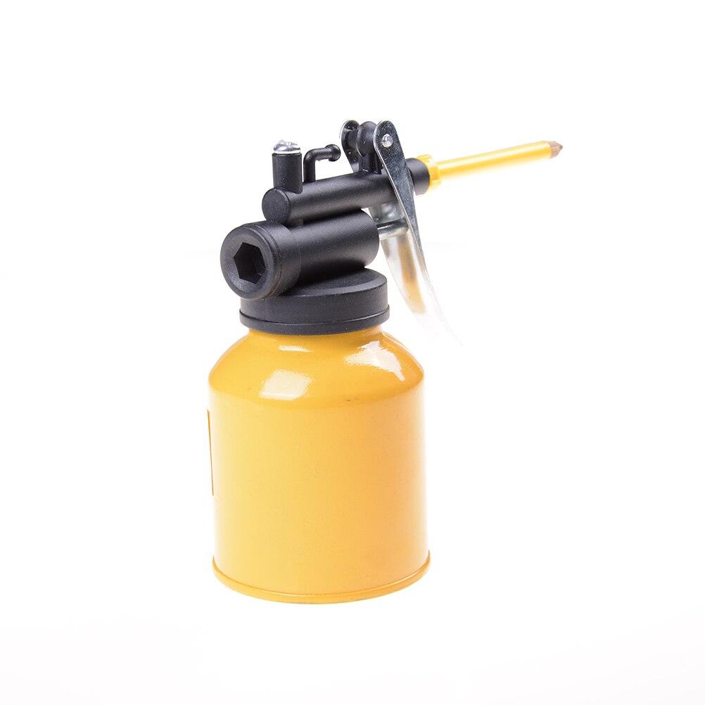 Hvlp paint spray gun oil pump cans oiler hose grease for Spray gun for oil based paints