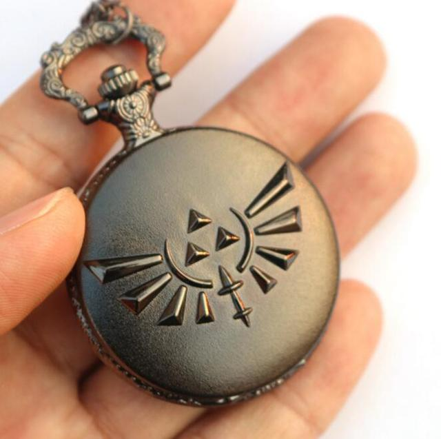The Legend of Zelda Bronze Quartz Pocket Watch
