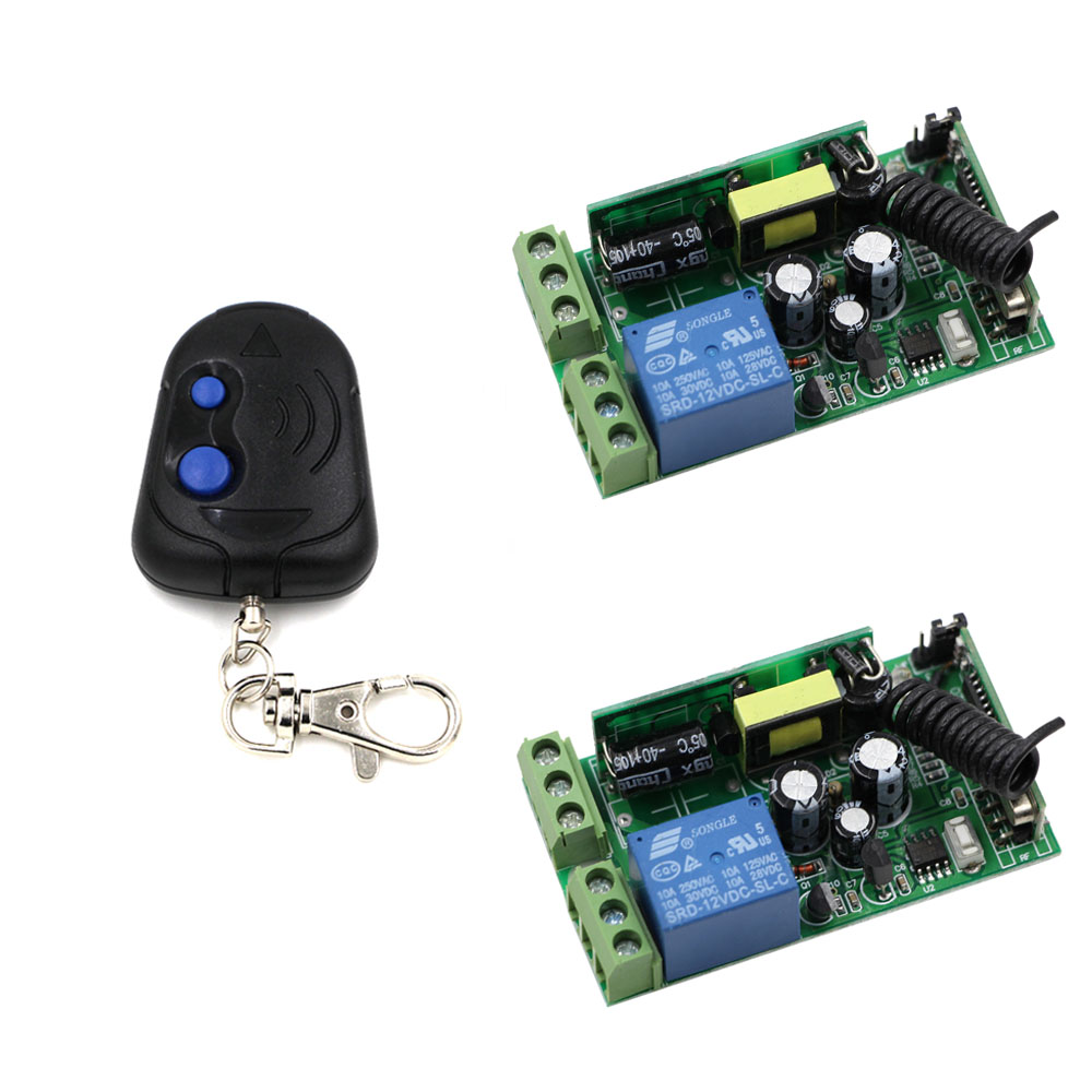 AC 85V-250V 110V 220V 230V 250V Wireless Remote Control Switch 10A Relay Switch Receiver Transmitter For Lamp Light LED ON OFF ac 85v 250v wireless remote control switch remote power switch 1ch relay for light lamp led bulb 3 x receiver transmitter