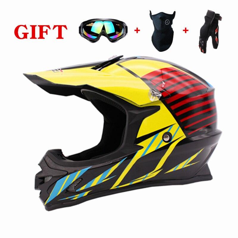 Super Light Helmet Motorcycle Racing Bicycle Helmet Cartoon Children ATV Dirt bike Downhill MTB DH cross