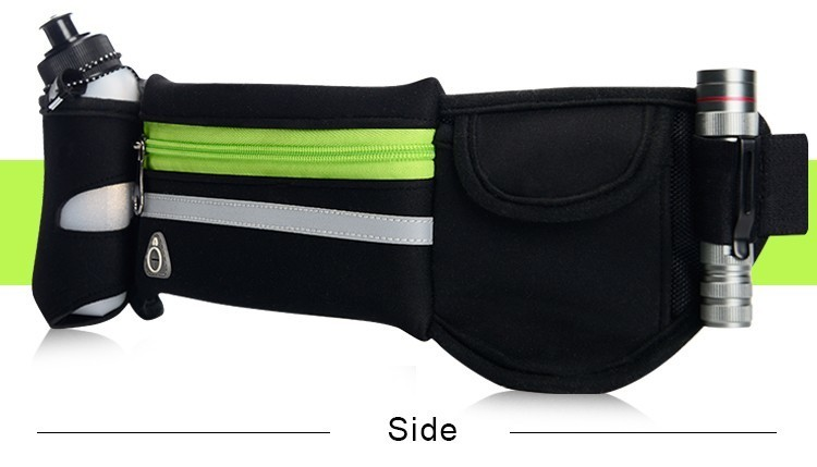 Outdoor Women&Men Hydration Belt For Trail Running Hip Waist Pack Gym Fitness Jogging Waist Bag Water Bottle Sport Accessories 12