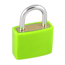 NFLC Rectangle Drawer Cabinet Suitcase Toolbox Padlock Green 23mm w 2 Keys