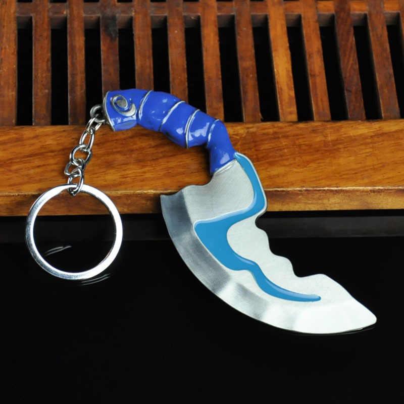 2019 dota 2 llavero pudge juguetes juego Dota2 armas espada talismán accesorios adornos coche decoración regalo para juego regalos