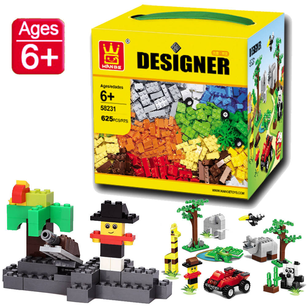 Compatible With Lego 626PCS/set DIY Model Building Bricks Blocks Kids Toys for Girls & Boys wange educational learning toys kids diy set toys cars plastic model kits building bricks blocks for boys 4 in 1 with motor