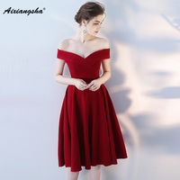 2018 New Cheap A Line V Neck Celebrity Dresses Zipper Plus Size Red Carpet Dress Elegent