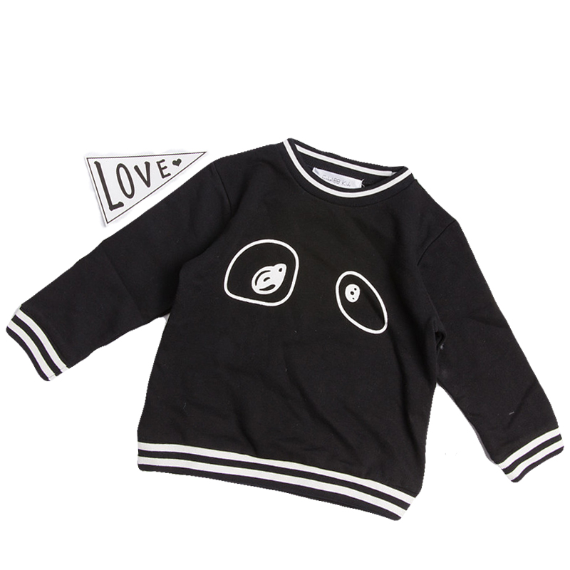 EnkeliBB Kids Fashion Sweatshirt Boys Autumn Sweatshirts Eyes Print Sport Tops Girls Fashion Outwear KIKIKIDS European Baby Boy