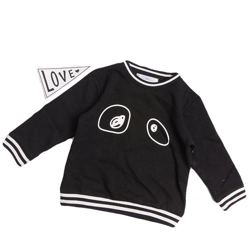 EnkeliBB Kids Fashion Sweatshirt Boys Autumn Sweatshirts Eyes Print Sport Tops Girls Fashion Outwear KIKIKIDS European Baby Boy