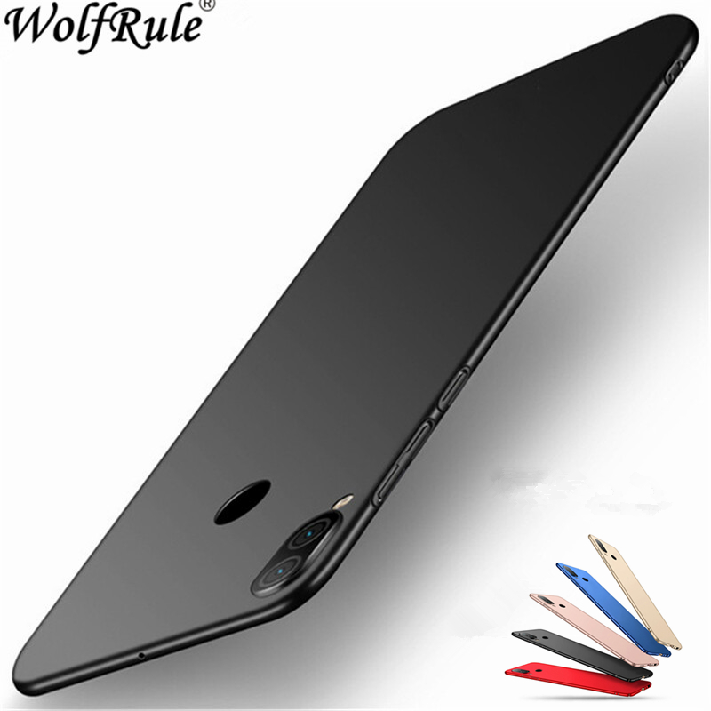For Meizu Note 9 Case Cover Ultra-thin Smooth Back Protection Plastic PC Fundas 6.2