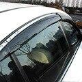 Para Nissan Qashqai J11 2015 2016 Side Janela Visor Ventilação Shades Sun Chuva Defletor Guarda Protetor de Toldos Car Styling Acessório