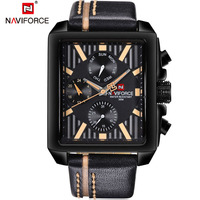 Watches Men Luxury Brand NAVIFORCE Fashion Sport Military Watches Men S Waterproof Leather Quartz Man Watch