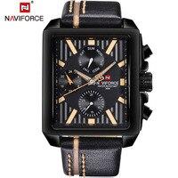 Watches Men Luxury Brand NAVIFORCE Fashion Sport Military Watches Men S Waterproof Leather Quartz Man Watch