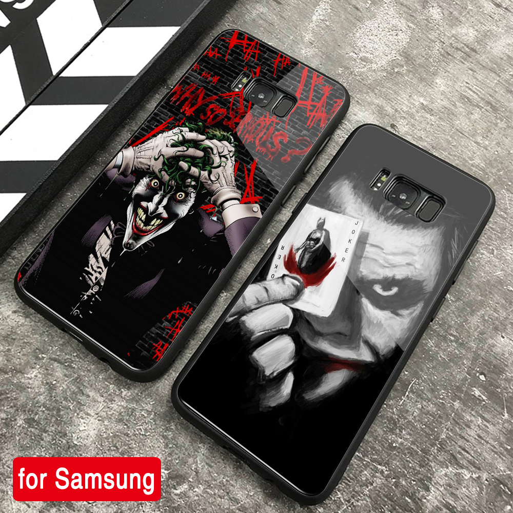 FinderCase for <font><b>Samsung</b></font> <font><b>S9</b></font> <font><b>Case</b></font> Joker Hard Back Glass <font><b>case</b></font> for <font><b>Samsung</b></font> Galaxy Note 8 9 10 plus S8 <font><b>S9</b></font> Plus S10 plus S10 Lite image